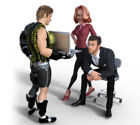 Animação 2D e 3D, Criação de mascote 2D, Mascote 3D , Site e E-commerce.